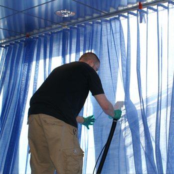 DRAPERY AND BLIND CLEANING SERVICES